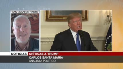 Santa María: Resistencia iraní dará un golpe fuerte a Trump
