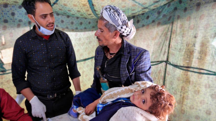 ONU: Un ataque aéreo más provocará epidemia imparable en Yemen
