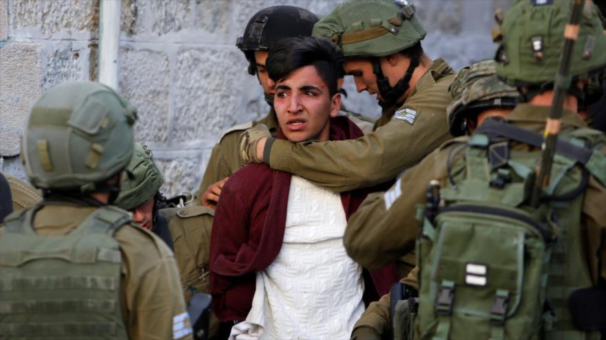 OLP: Israel tiene encarcelados a 291 niños palestinos