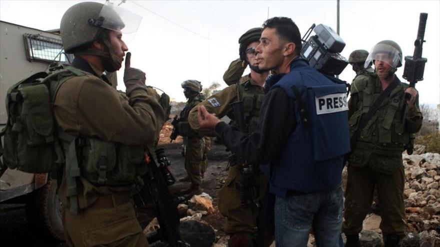 Fuerzas israelíes detienen a 4 periodistas palestinos en Cisjordania