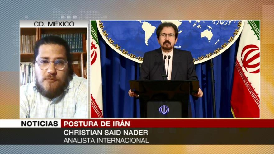Said Nader: A EEUU le preocupa mucho el caso de estrecho de Ormuz