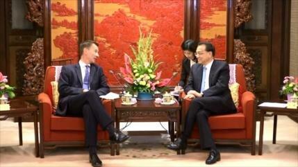 Londres busca estrechar lazos comerciales con China