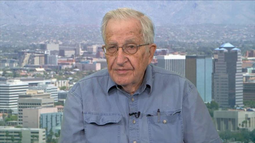 Chomsky: injerencia israelí en elecciones de EEUU supera a la de Rusia