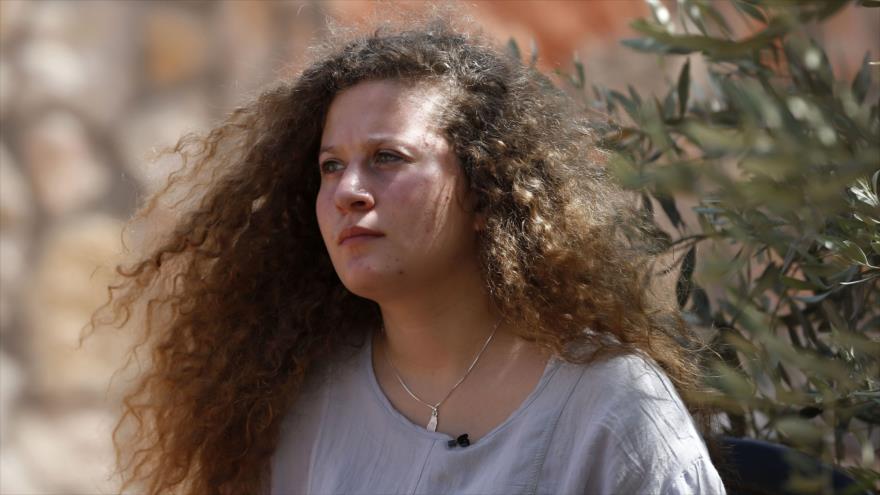 Joven activista palestina Ahed Tamimi busca un 'futuro político'