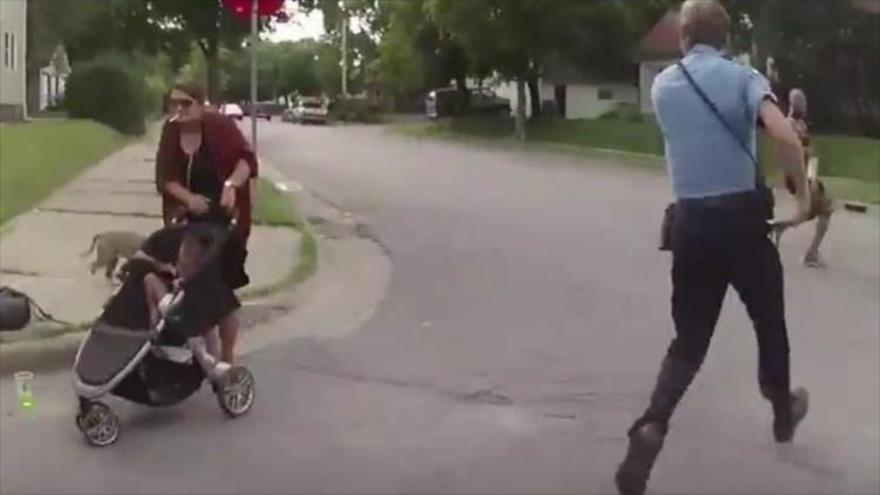 Video: Brutal asesinato de un afroamericano por policía EEUU