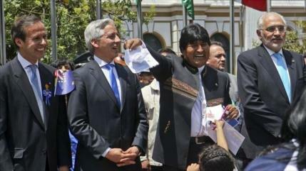 Encuesta muestra empate entre Morales y Mesa en elecciones de 2019