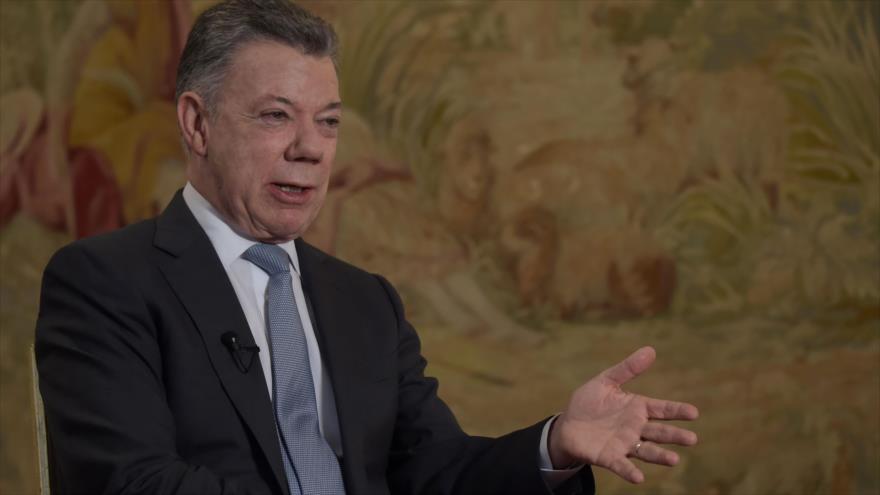 Santos: Ojalá mañana mismo terminara la presidencia de Maduro