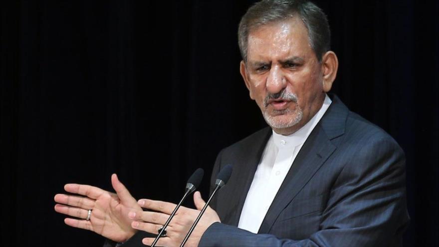 El primer vicepresidente iraní, Eshaq Yahanguiri.