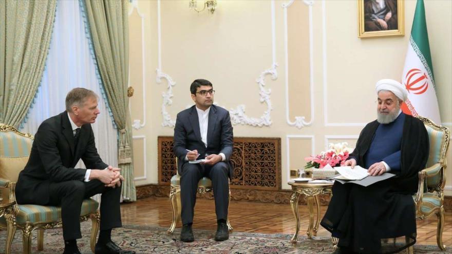 'Irán no busca tensión, pero defenderá derecho a exportar crudo'
