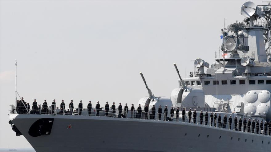 Armada rusa realiza grandes maniobras navales en el mar Báltico | HISPANTV
