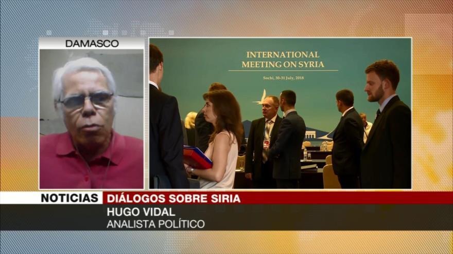 Vidal: Nueva carta magna para Siria debe someterse a referéndum