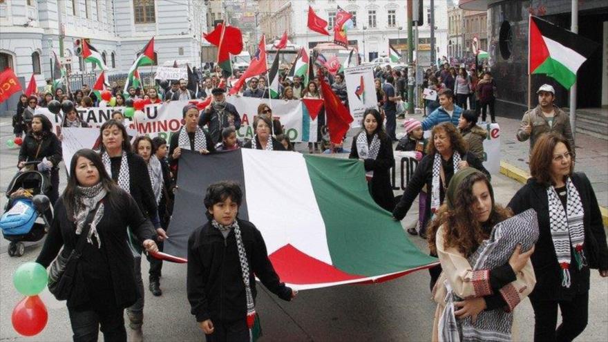 Palestinos en Chile denuncian visita de políticos israelíes