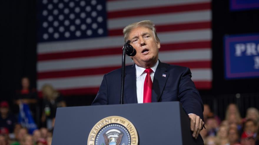Trump: Diálogo con Irán se celebrará 'bastante pronto'