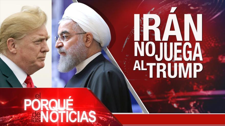 El Porqué de las Noticias: Irán rechaza oferta de Trump. Diálogos sobre Siria. Violencia en Nicaragua