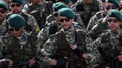 Irán incauta armas semipesadas de terroristas en Kerman