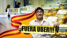 Cámara al Hombro: Guerra abierta de los taxistas contra las VTC