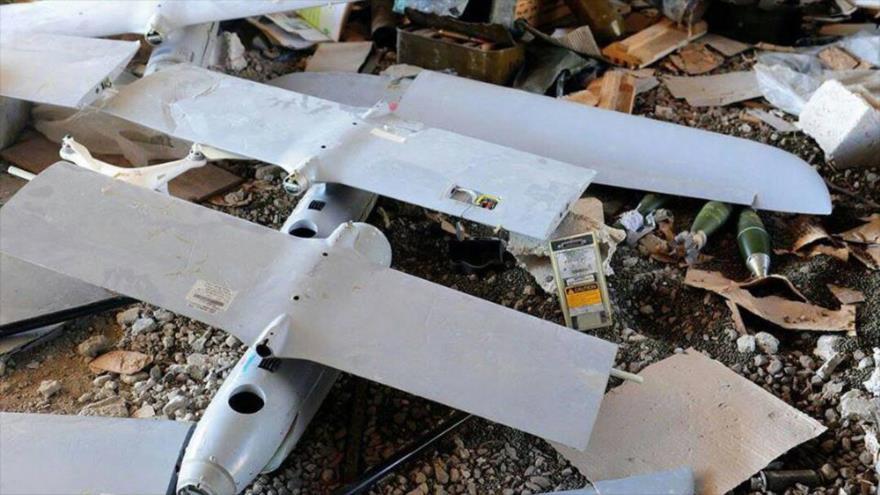 Siria incauta más armas y drones israelíes de terroristas en Daraa