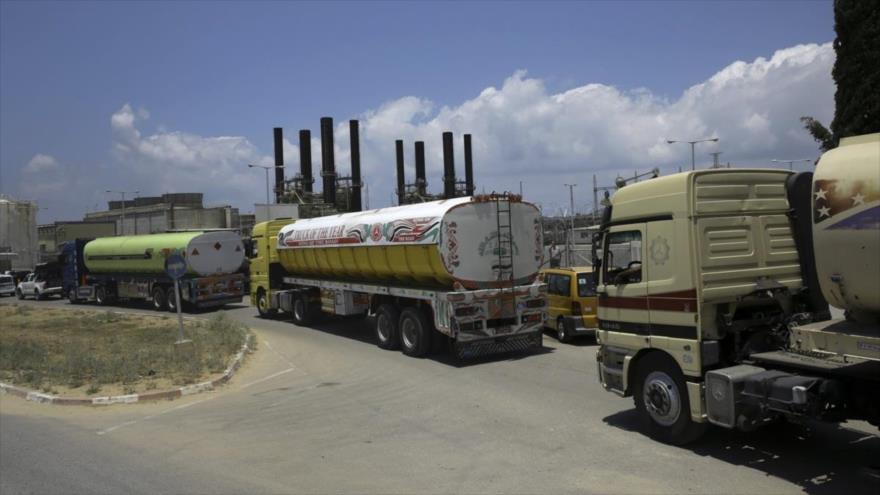 Israel bloquea el suministro de carburante en la Franja de Gaza
