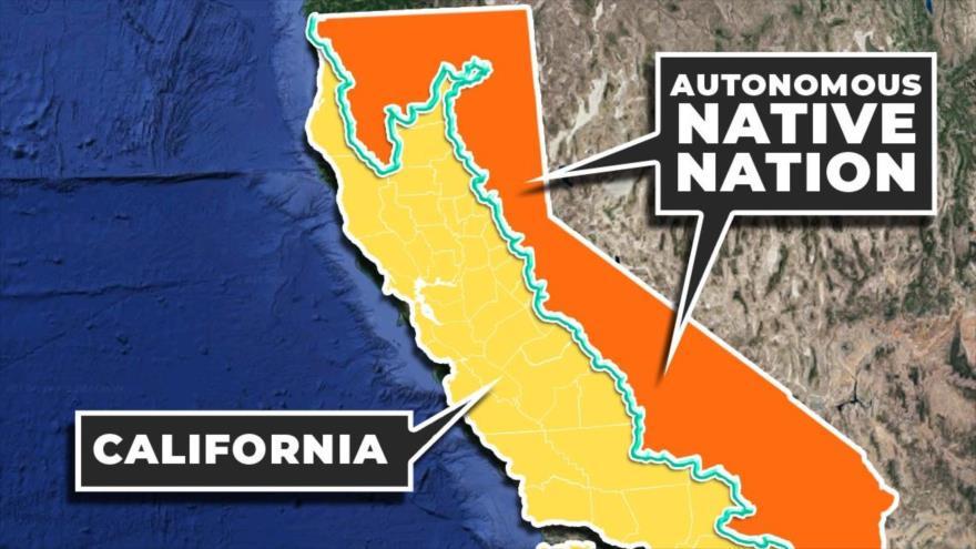 De separarse de EEUU, la mitad de California sería un estado nativo