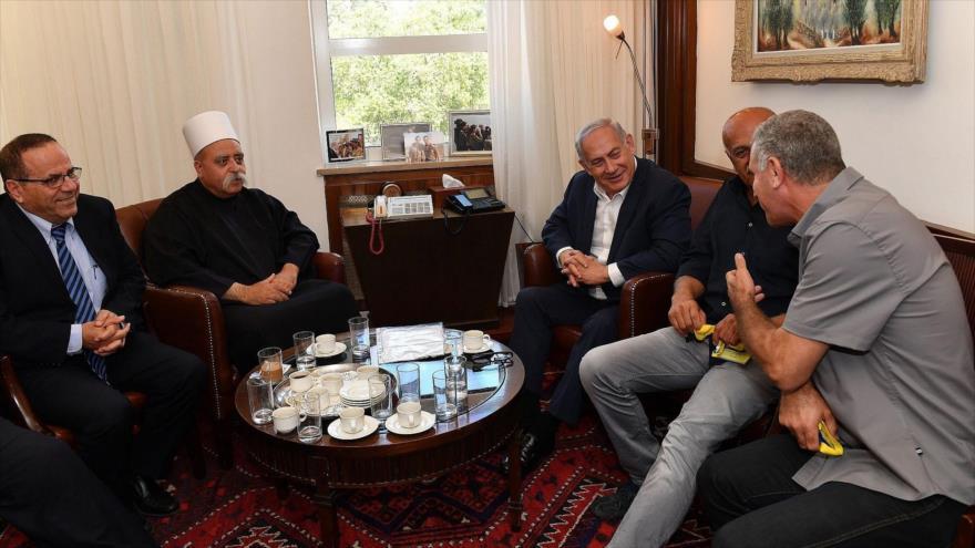 Líder druso enfurece a Netanyahu al denunciar 'apartheid' israelí