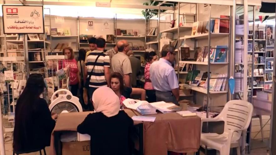 Amplia participación en Feria Internacional del Libro en Damasco
