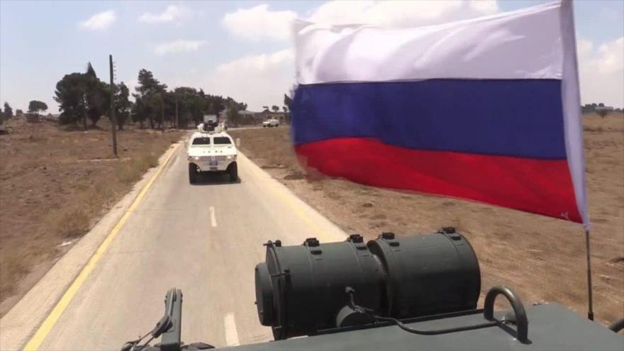 Vídeo: Policía Militar rusa asegura acceso de la ONU al Golán