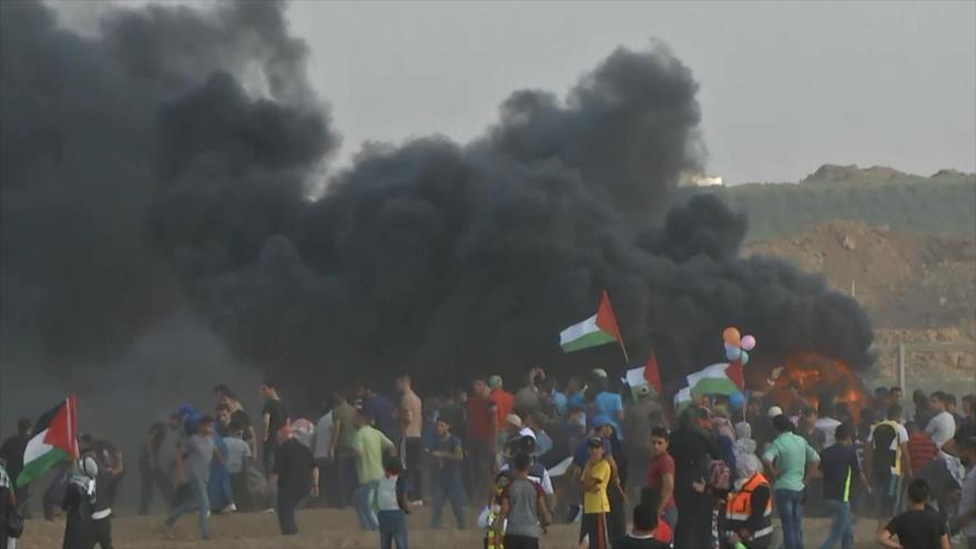 Décimo noveno viernes de manifestaciones en Franja de Gaza