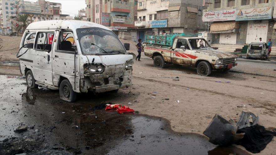 Yemen culpa a EEUU e Israel de ataque mortal saudí en Al-Hudayda