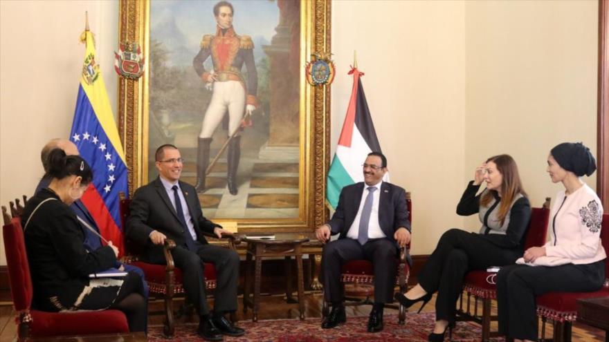 Venezuela y Palestina apuntalan lazos ante arremetidas de EEUU e Israel