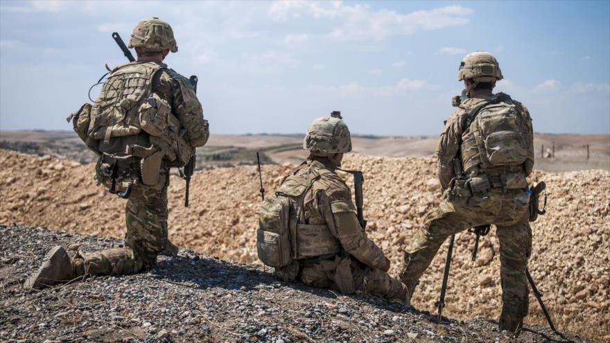 Soldados estadounidenses desplegados en el norte de Siria, 24 de junio de 2018.