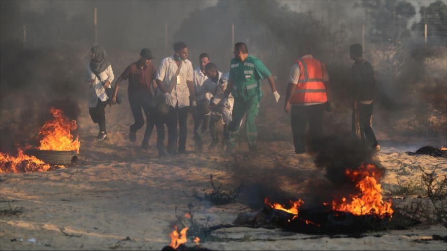 Muere un adolescente palestino malherido por militares israelíes
