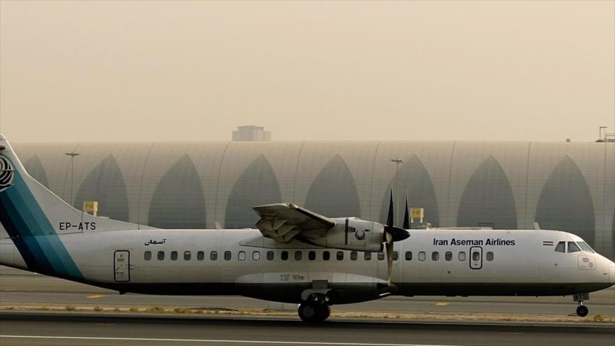 Irán recibirá este domingo 5 nuevos aviones ATR