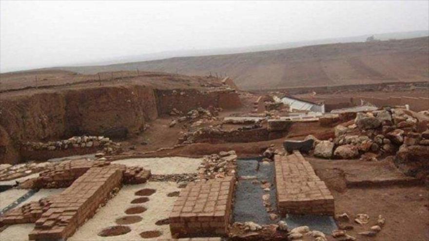 Un sitio arqueológico en la provincia de Idlib, ubicada en el noroeste de Siria.