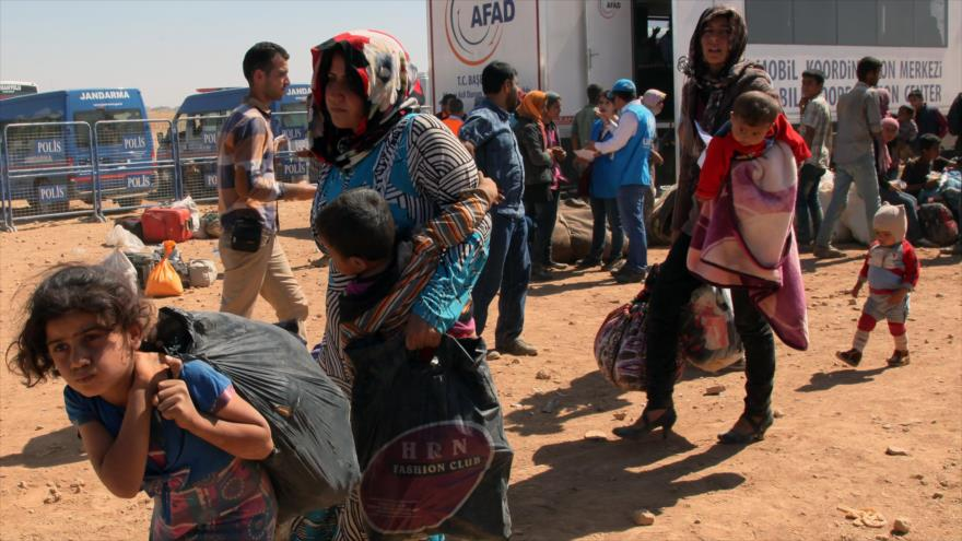 OSDH: Fuerzas turcas han matado a 400 sirios en la frontera