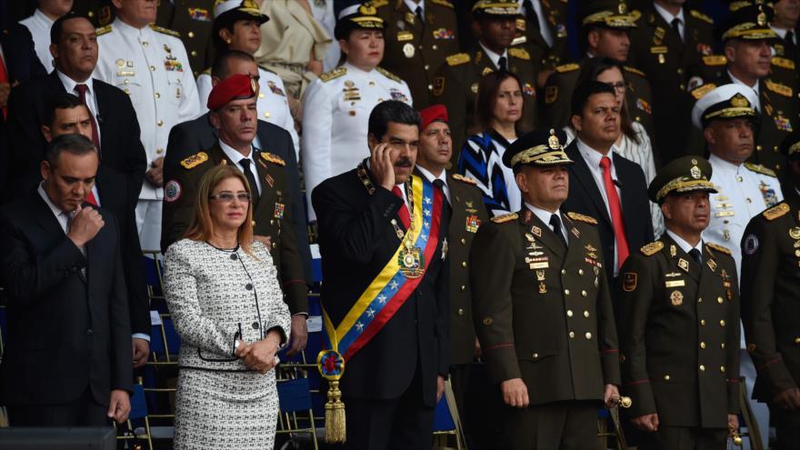 Vídeo: Una explosión en pleno discurso de Maduro en Venezuela