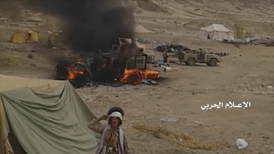 Vídeo: Fuerzas yemeníes se apoderan de 3 puestos militares saudíes