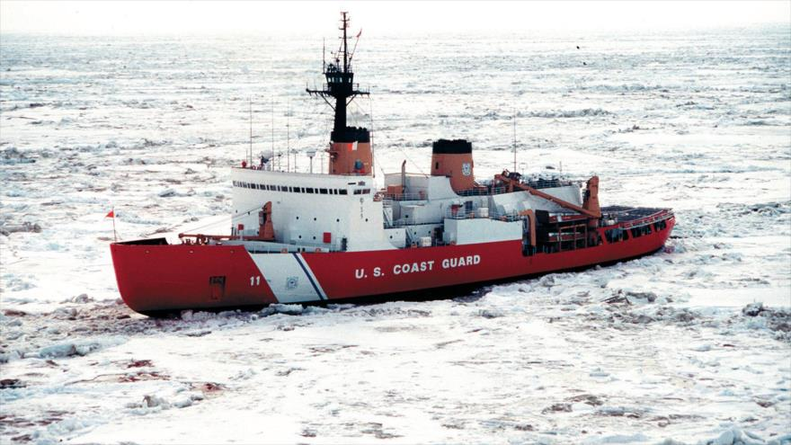 Un rompehielos estadounidense Polar Star.