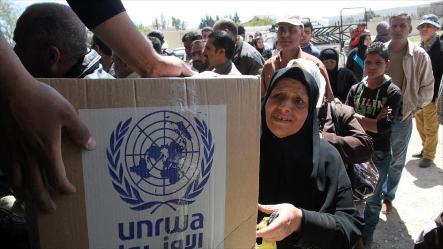 Palestina denuncia intentos de EEUU para desmantelar la UNRWA