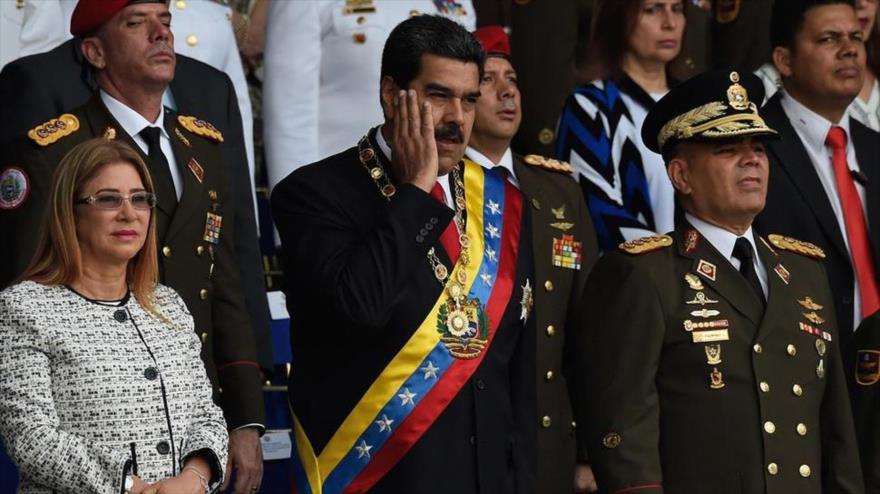 El presidente venezolano, Nicolás Maduro, en un acto en Caracas (capital), 4 de agosto de 2018.