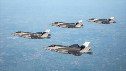 Hackean datos secretos de los nuevos cazas F-35 del Reino Unido