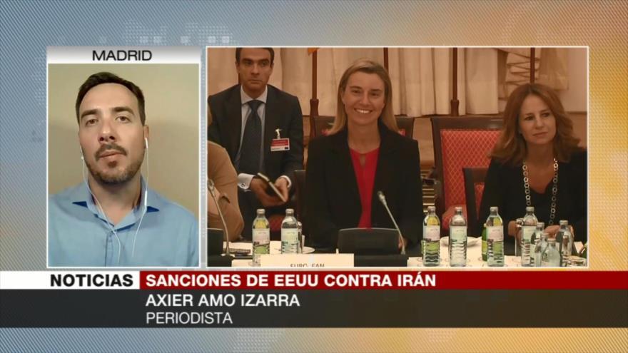 Amo Izarra: Irán cuenta con el apoyo europeo ante sanciones de EEUU