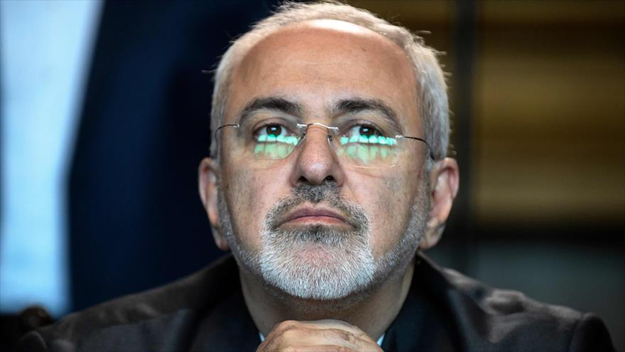 El canciller iraní, Mohamad Yavad Zarif, en una reunión en Moscú, la capital rusa, 28 de abril de 2018. (Foto: AFP)