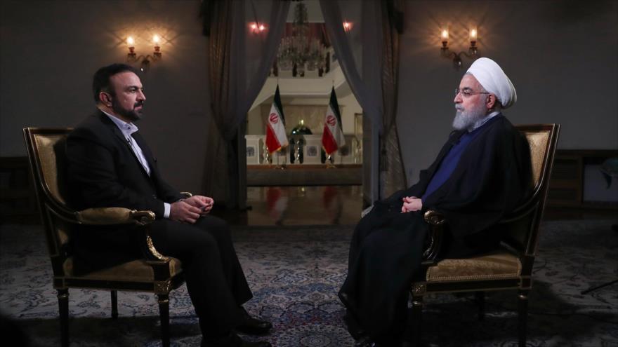 Rohani alerta a EEUU que diálogo y sanciones no van juntos