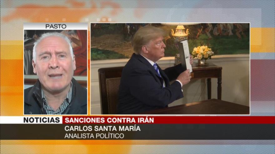 Santa María: Rusia y China frustran sanciones de EEUU contra Irán