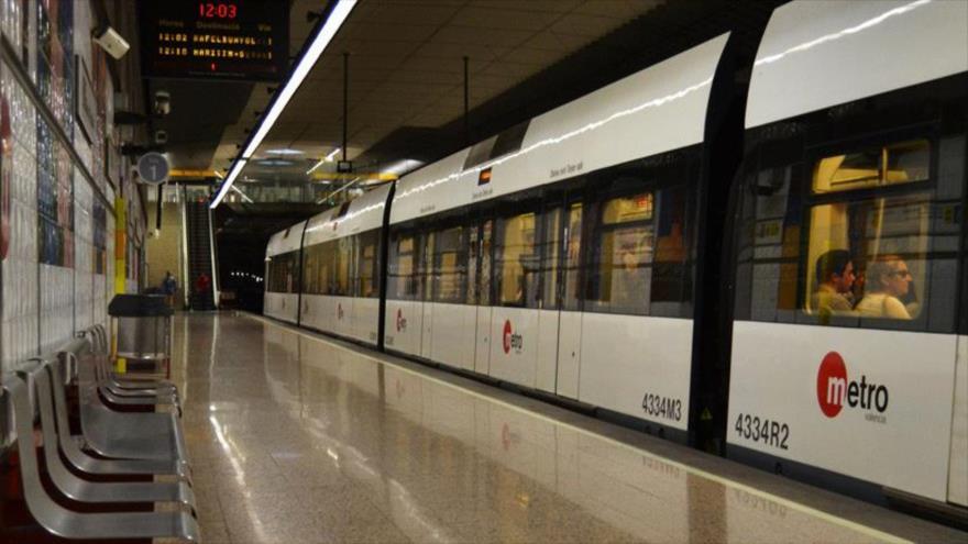 Grupo religioso alemán causa pánico en metro de España
