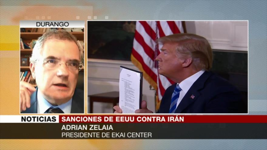 Zelaia: Sanciones contra Irán no tienen ningún fundamento objetivo