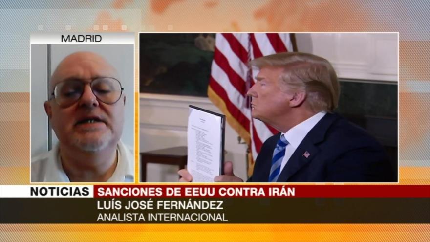Fernández: Trump busca 'convertir a Irán en su colonia'