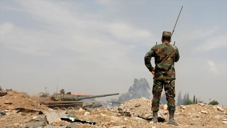 Ejército sirio corta rutas de suministro de terroristas en Hama