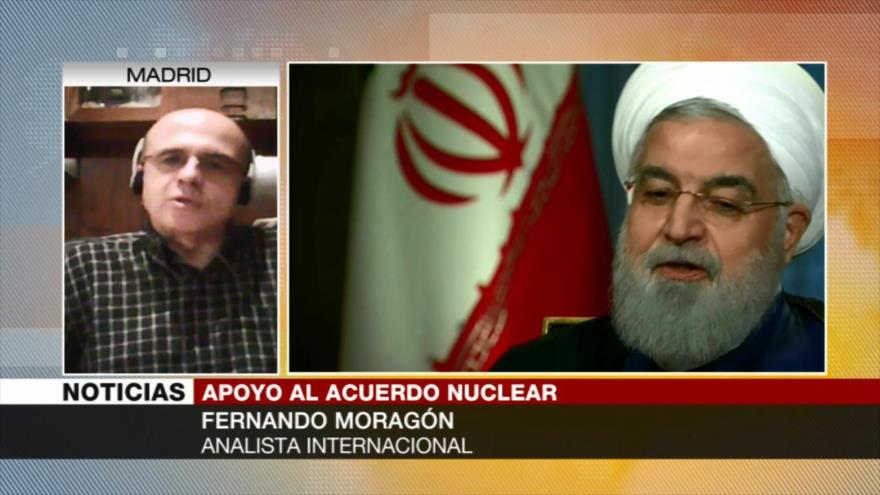 Moragón: Irán cuenta con apoyo de China y Rusia en era pos-sanciones