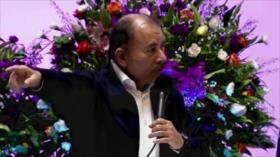 Daniel Ortega responsabiliza a EEUU por la crisis de Nicaragua